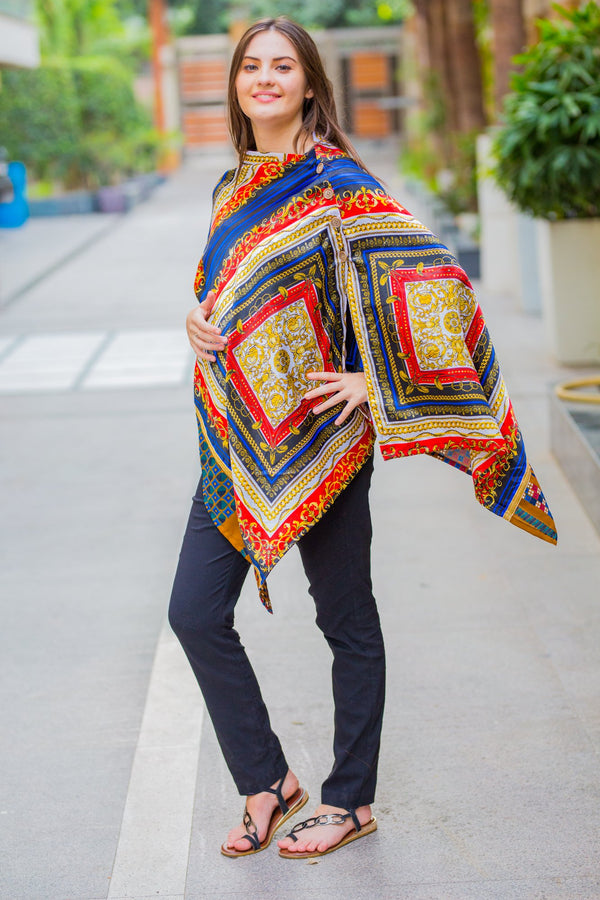 Premium Abstract Nursing Stole