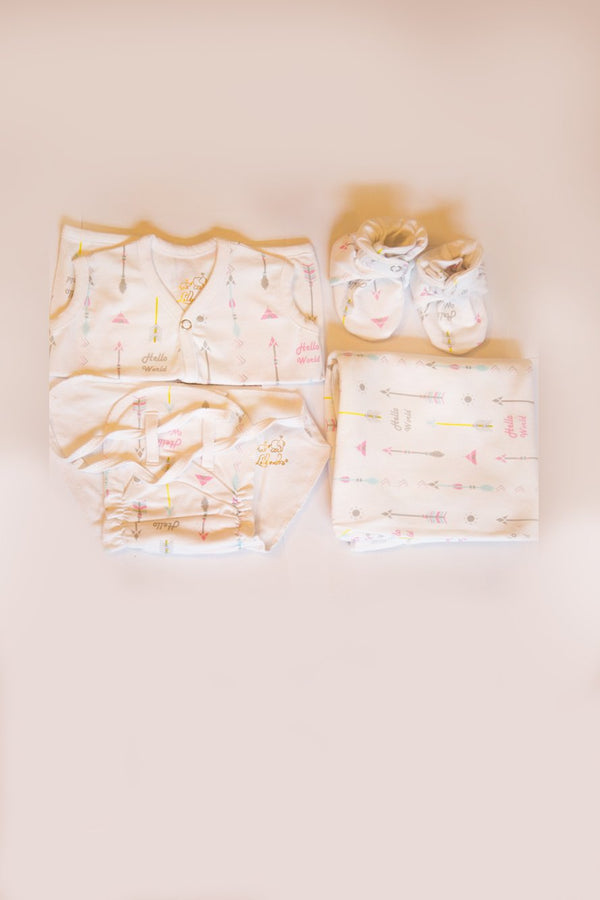 Set of 4-New Born Baby Arrow Set (0-3 months) - MOMZJOY.COM