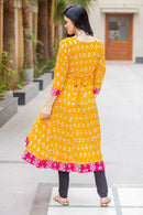 Honeydew Maternity & Nursing Anarkali Kurta - MOMZJOY.COM
