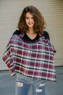 Berry Check Nursing Cover - MOMZJOY.COM