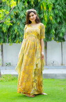 Happy Sun Maternity Flow Dress