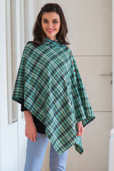 Emerald Gold Embellished Nursing Stole - MOMZJOY.COM