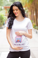Cute Bun In The Oven Maternity Tee/T-shirt - MOMZJOY.COM