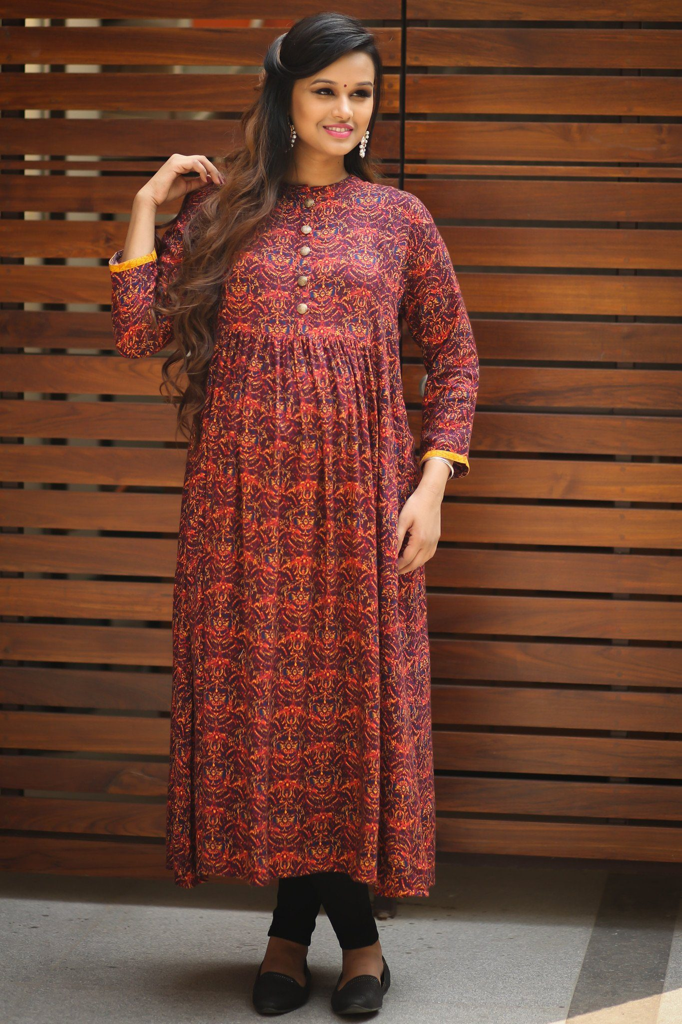 Classic Royal Long Maternity and Nursing Kurta