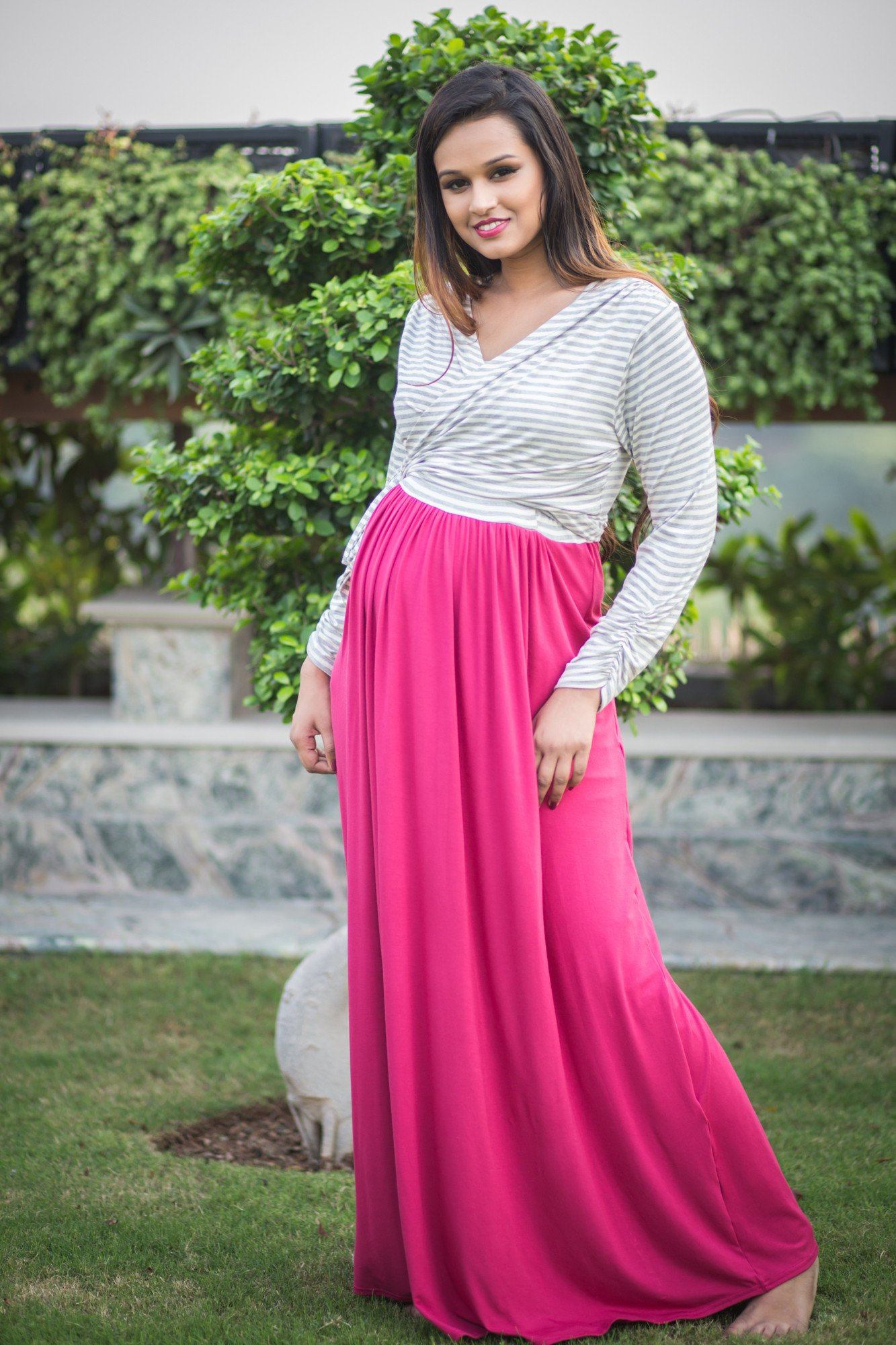 MOMZJOY - Buy Maternity Clothes, Pregnancy Wear Online India - Maternity Feeding Dress
