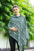 Aztec Striped Cotton Nursing Stole