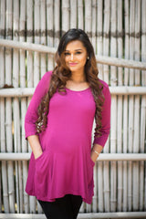 Momzjoy Maternity & Nursing Top, Maternity Wear, Pregnancy Clothes Online India