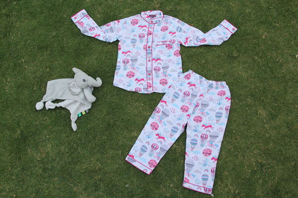 Unicorn Night Wear Set (0-8Yrs)