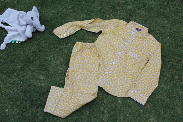 Honey Clip Night Wear Set (0-8Yrs)