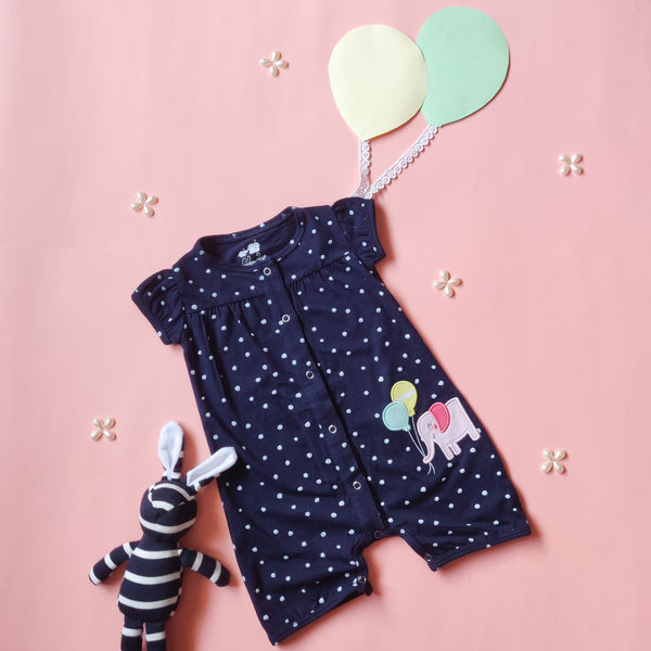 Balloon Fitted Dress (0-24 months)