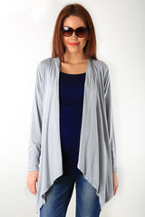 Striped Cascading Maternity Cover Up - MOMZJOY.COM - 3