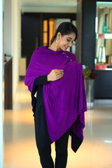 Raisin Purple Versatile Nursing Stole