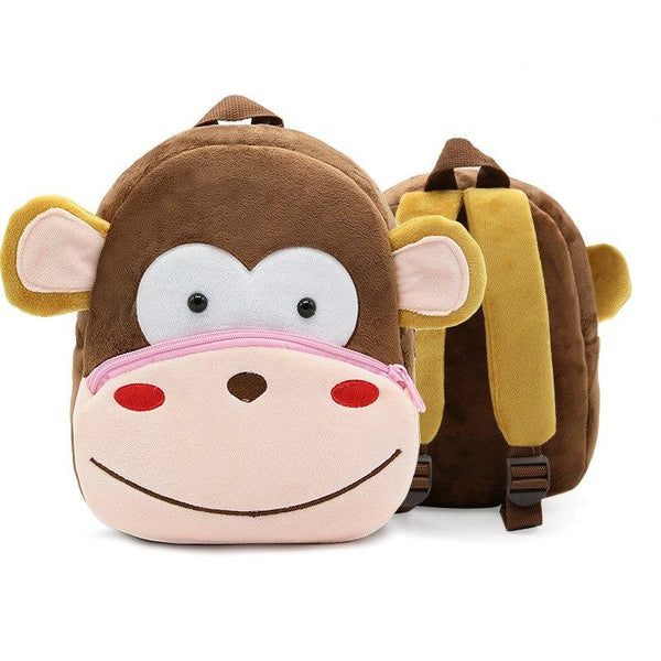 Cute Monkey 3D Toddler Backpack - MOMZJOY.COM