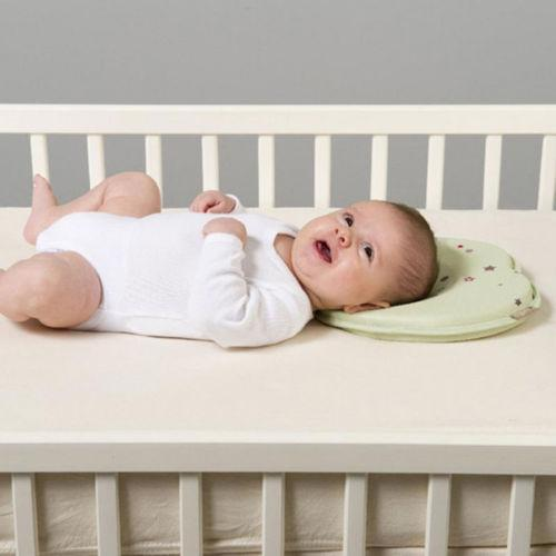 Mint Green Baby Head Shaping Pillow (Avoid The Flathead)