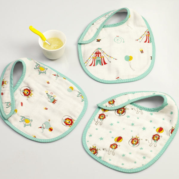Circus Circus Bib Set  (Set of 3)