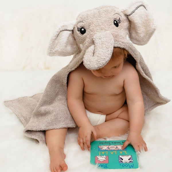 Elephant Animal Wrap (Baby) Towel