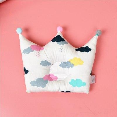 Fluffy Cloud Baby Head Shaping Pillow (Avoid The Flathead)