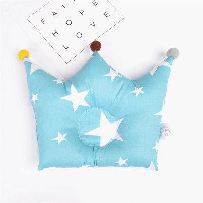 Starry Sky Blue Baby Head Shaping Pillow (Avoid The Flathead)