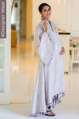 Grey Shimmer Designer Maternity & Nursing Jacket Dress (MADE TO ORDER)