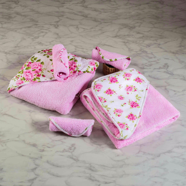 La Rose Washcloth - Set of 3
