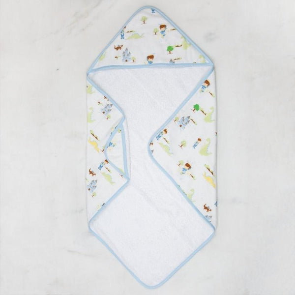 Adventurous Prince Muslin Hooded Towel