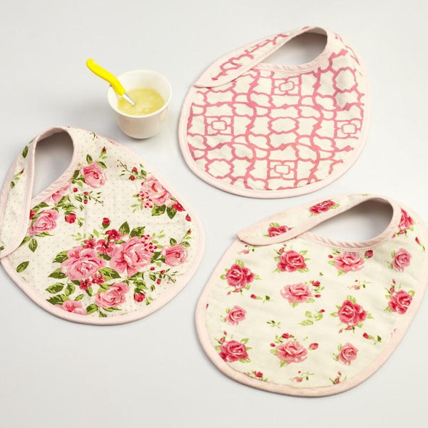 La Rose Bib Set  (Set of 3)