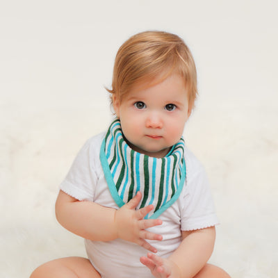 Safari Bandana Bib Set  (Set of 2)