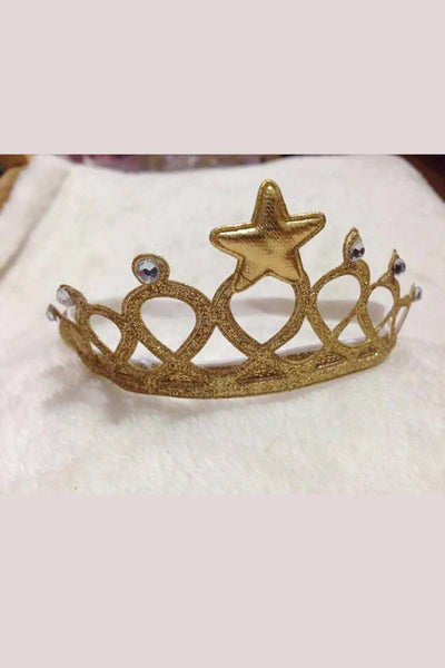 Golden Baby Crown Tiara - MOMZJOY.COM