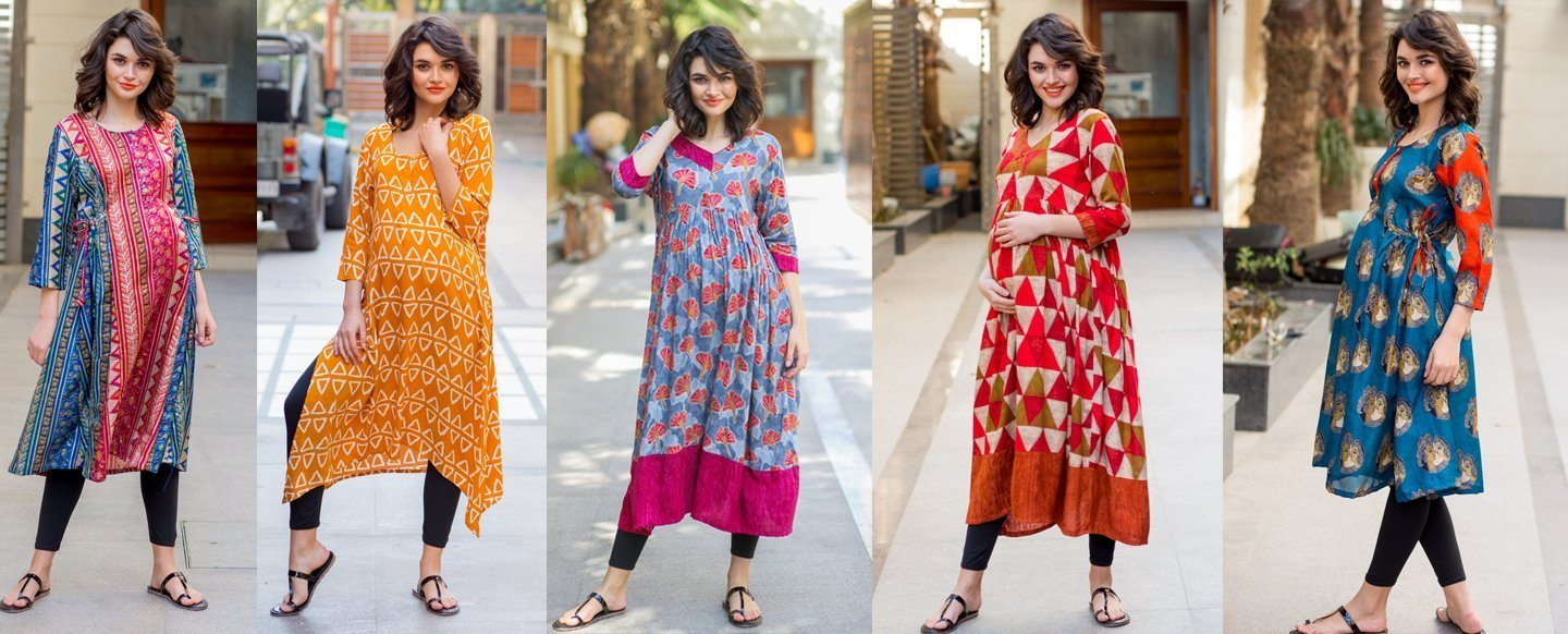 Buy Maternity Clothes, Pregnancy and Nursing Wear Online in India