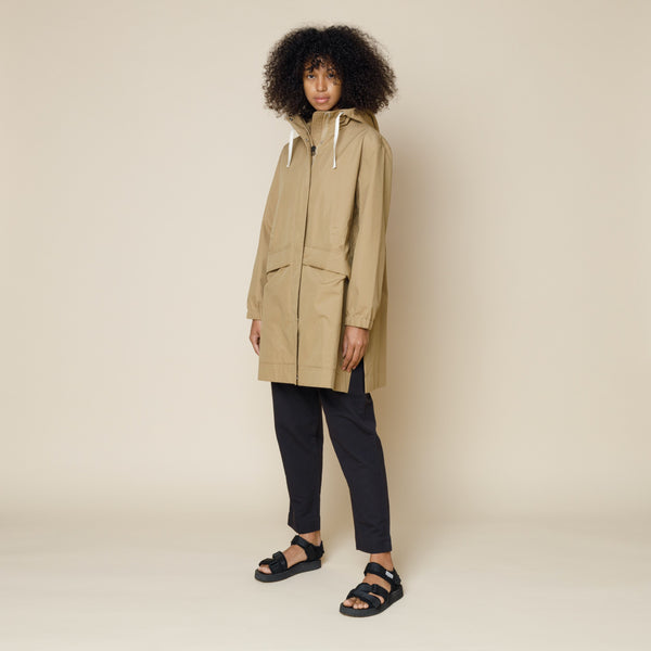 Shell Parka - Tan