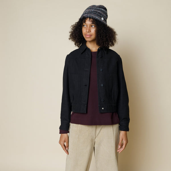 Stack Jacket - Soft Black