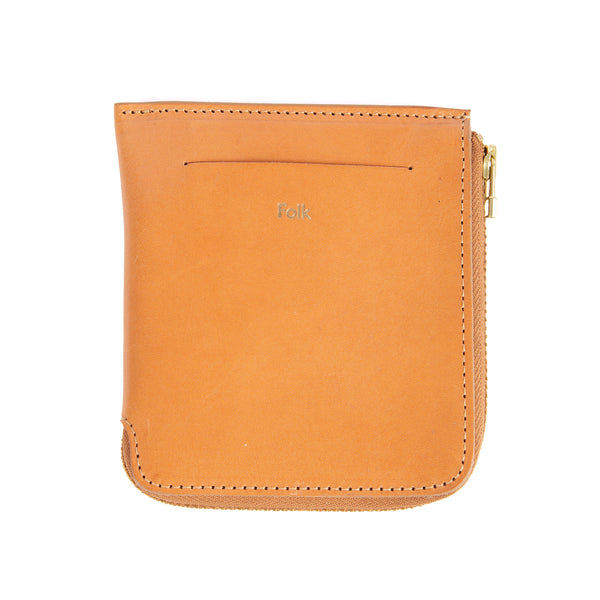 Zip Wallet - Tan