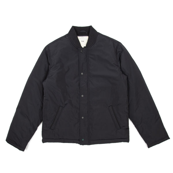 IAG Folk - Wadded Coach Jacket - Ink Black