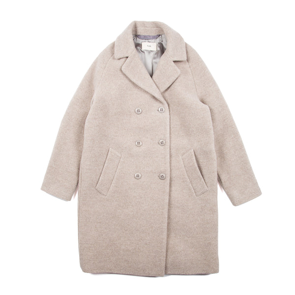 Cavi Coat - Warm Grey