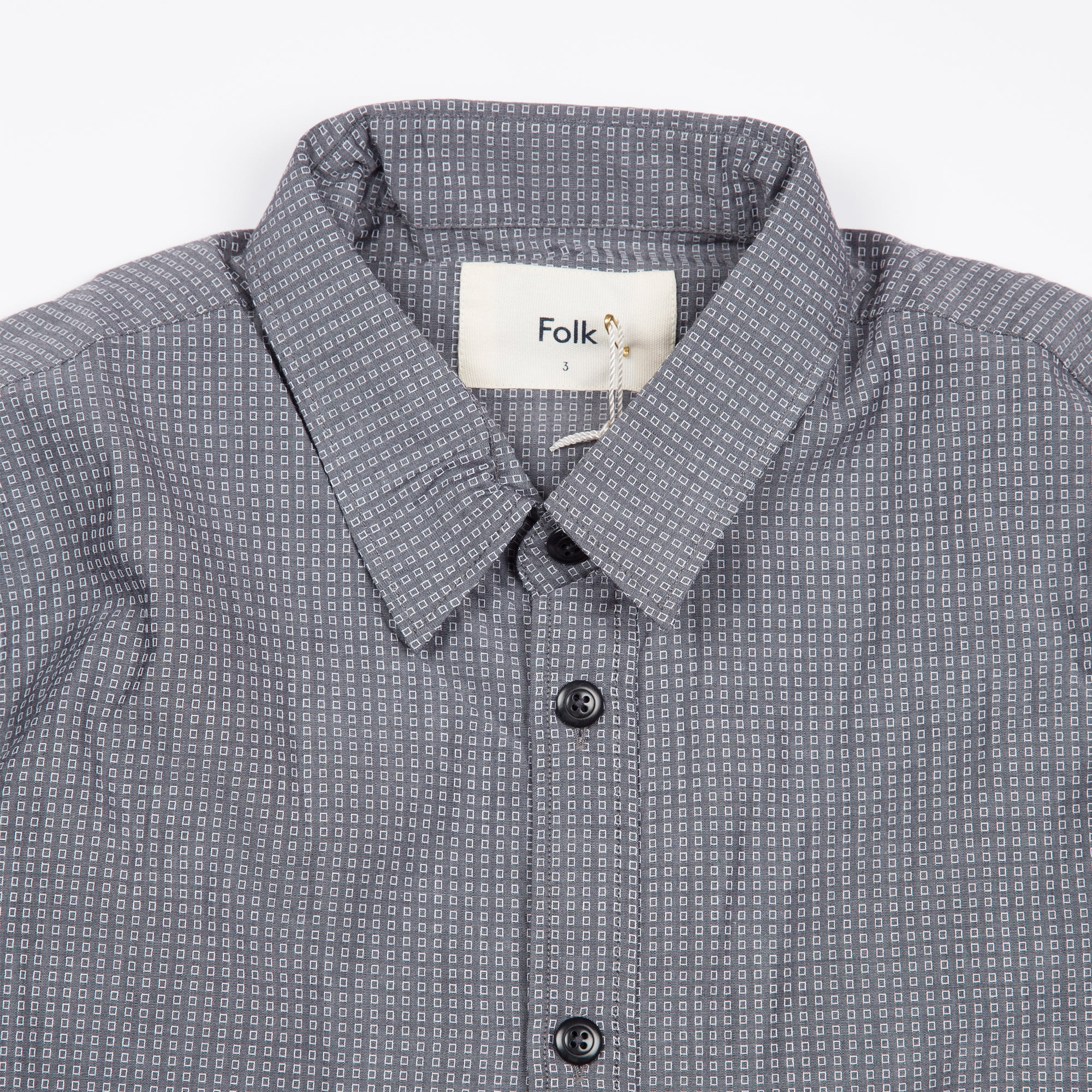 Smart Shirt - Mid Grey Box
