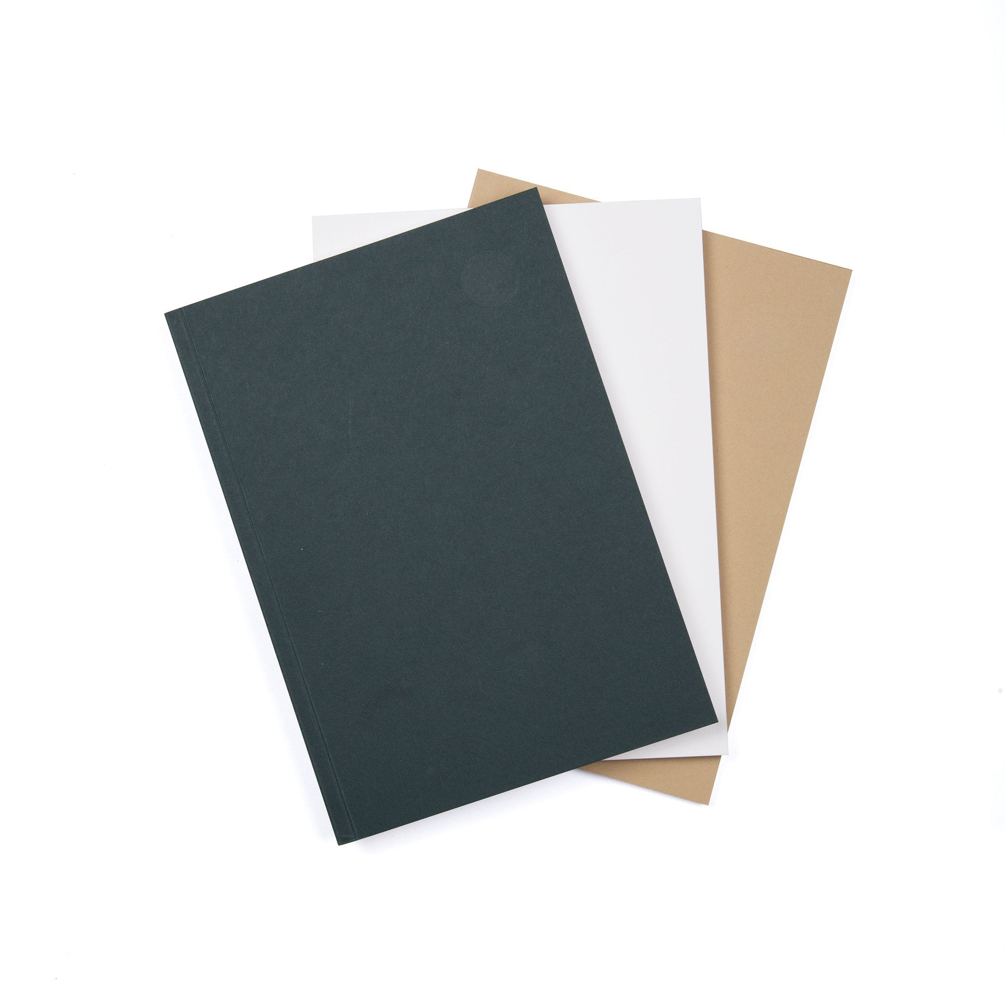 Iyouall - Set of 3 Design Notebooks - Blank