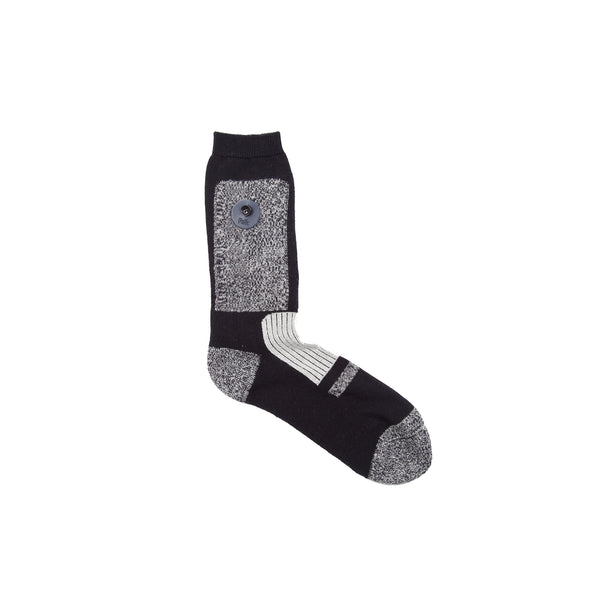 Amalgamation Socks - Black Oatmeal