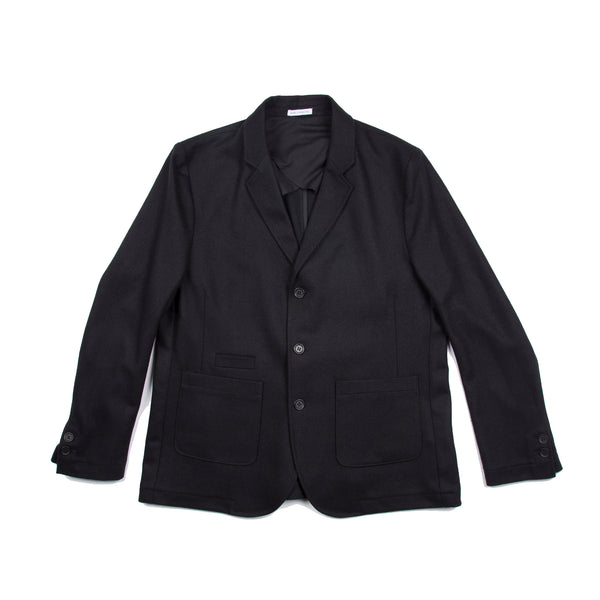 Three Button Jacket - Black