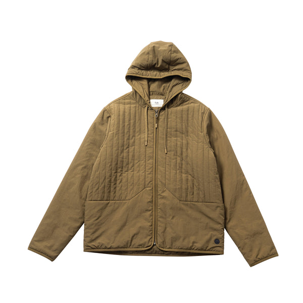 Wadded Junction Hoodie - Tobacco
