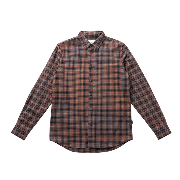 Storm Shirt - Mid Brick Check