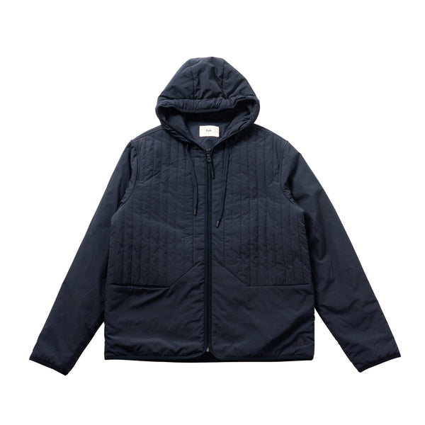 Wadded Junction Hoodie - Navy