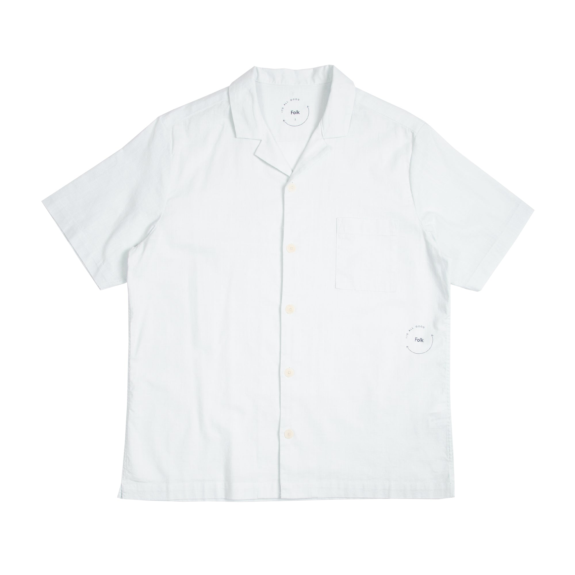 Holiday Shirt - Cool White