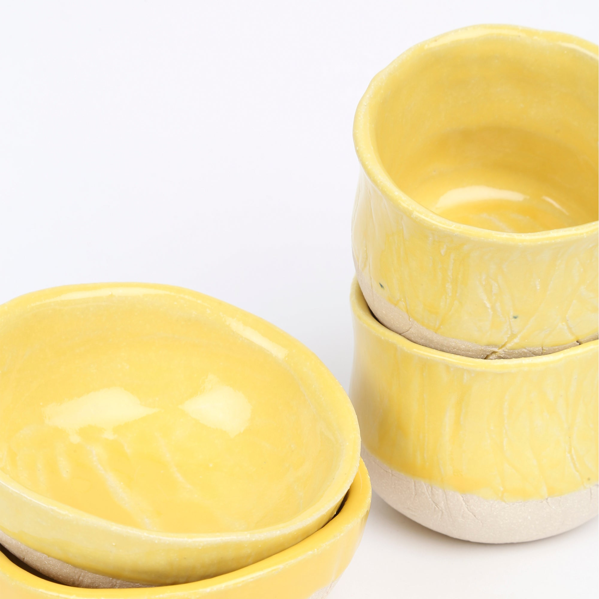 Kana Dip bowl in Yellow