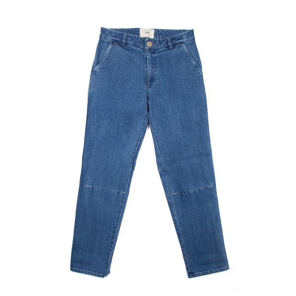 Jed 2 Trouser - Bleached Denim