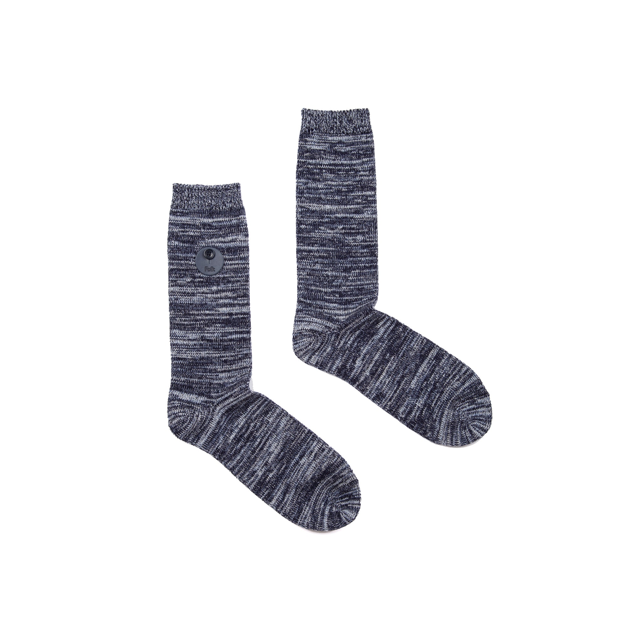 Melange Socks - Soft Blue Melange