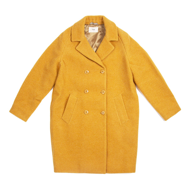Cavi Coat - Golden Yellow