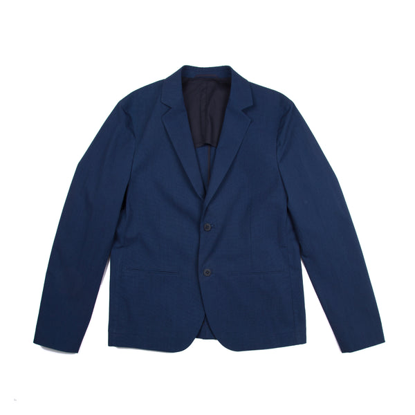 Counter Jacket - Indigo Texture
