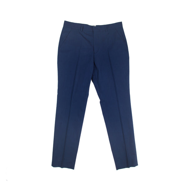 Counter Trouser - Indigo Texture