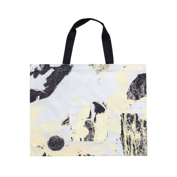Folk x Alfie Kungu - Tote - Light Gold Flare Print