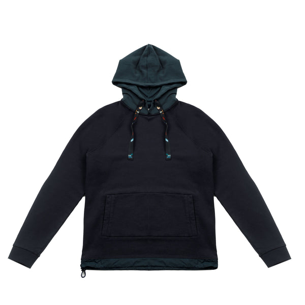 Draw Hem Hoodie - Midnight Mix